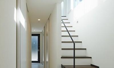 上丸子山王町の家 (廊下)