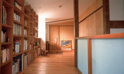 仕事場のある住まい|あなたの場所・自分の居場所を創る|大切な本の傍で至福の時を過ごす