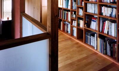 仕事場のある住まい|あなたの場所・自分の居場所を創る|大切な本の傍で至福の時を過ごす (仕事場に併設のライブラリーを見る)