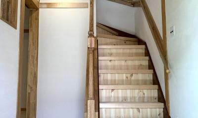 「ジャパニーズカントリー」 (階段)