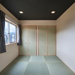 アウトドアリビングでおもてなしをする家#京都亀岡市の別荘 (和室)