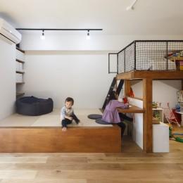 M邸-将来の個室は? 子どもの顔が見える間取りは? 子育て世代のリノベーション