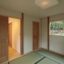 木と土の家の写真 和室