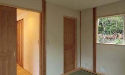 木と土の家 (和室)