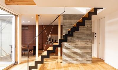 リビング・ダイニング・キッチン|Landscape-house