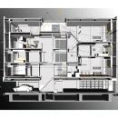 古川ビル / オーナー住戸付き事務所ビルの写真 断面構成