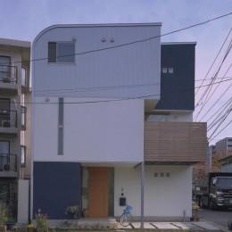 武蔵新城の家 (外観1)