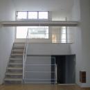 古川ビル / オーナー住戸付き事務所ビルの写真 階段