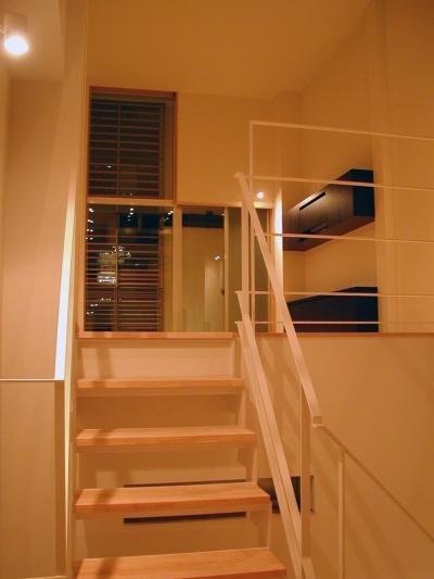 4階リビング (古川ビル / オーナー住戸付き事務所ビル)