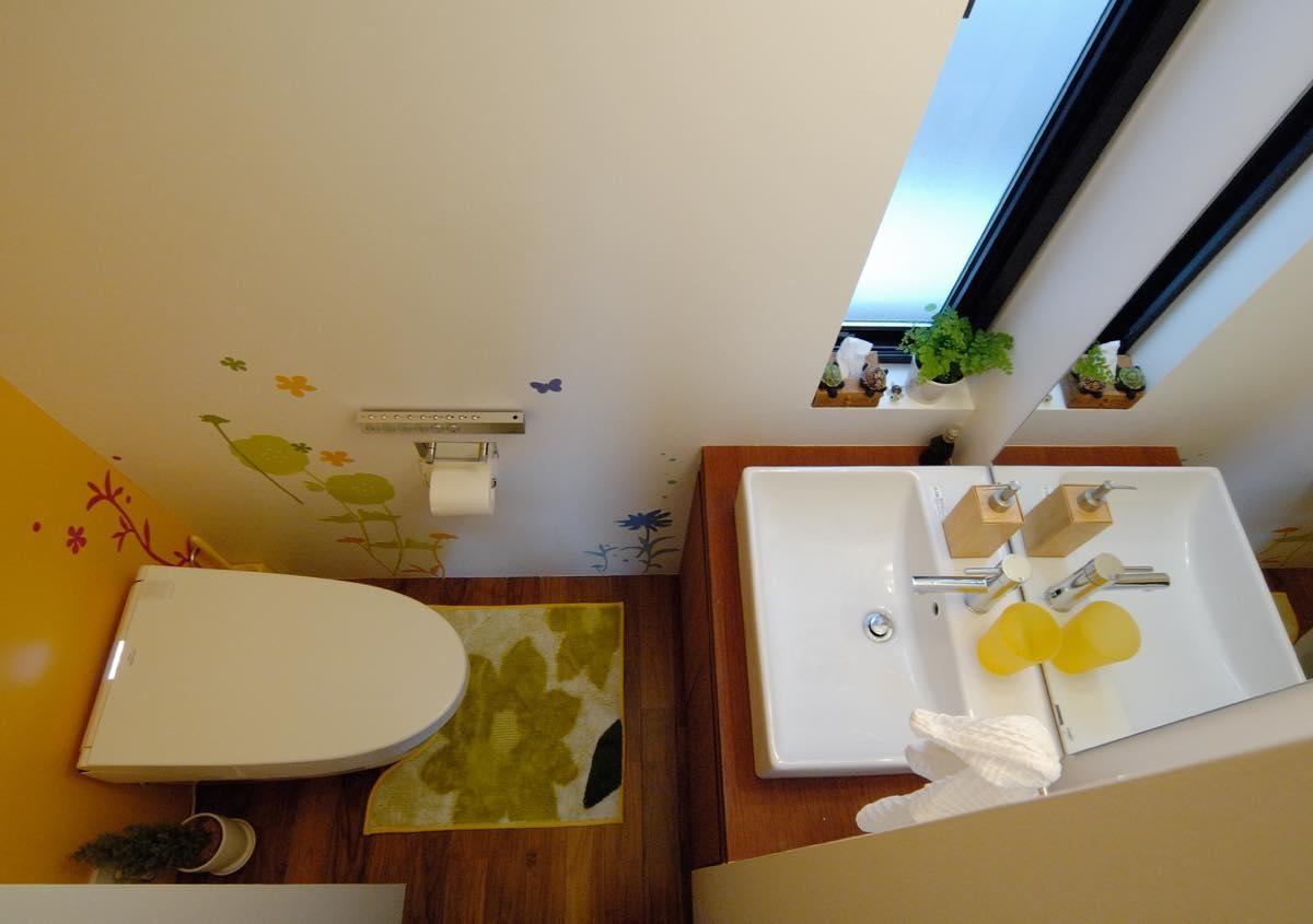 バス/トイレ事例:内観16(玉川学園の家)