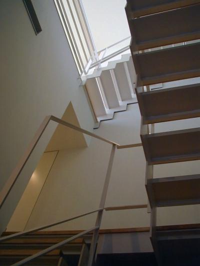 階段 (古川ビル / オーナー住戸付き事務所ビル)