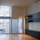 古川ビル / オーナー住戸付き事務所ビルの写真 2階リビング