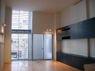 古川ビル / オーナー住戸付き事務所ビル (2階リビング)