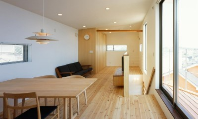 藤沢の家・K邸 (内観8)