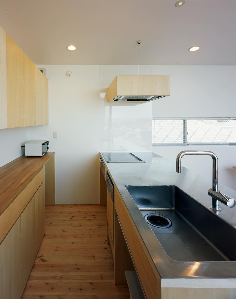 キッチン事例:内観11(藤沢の家・K邸)