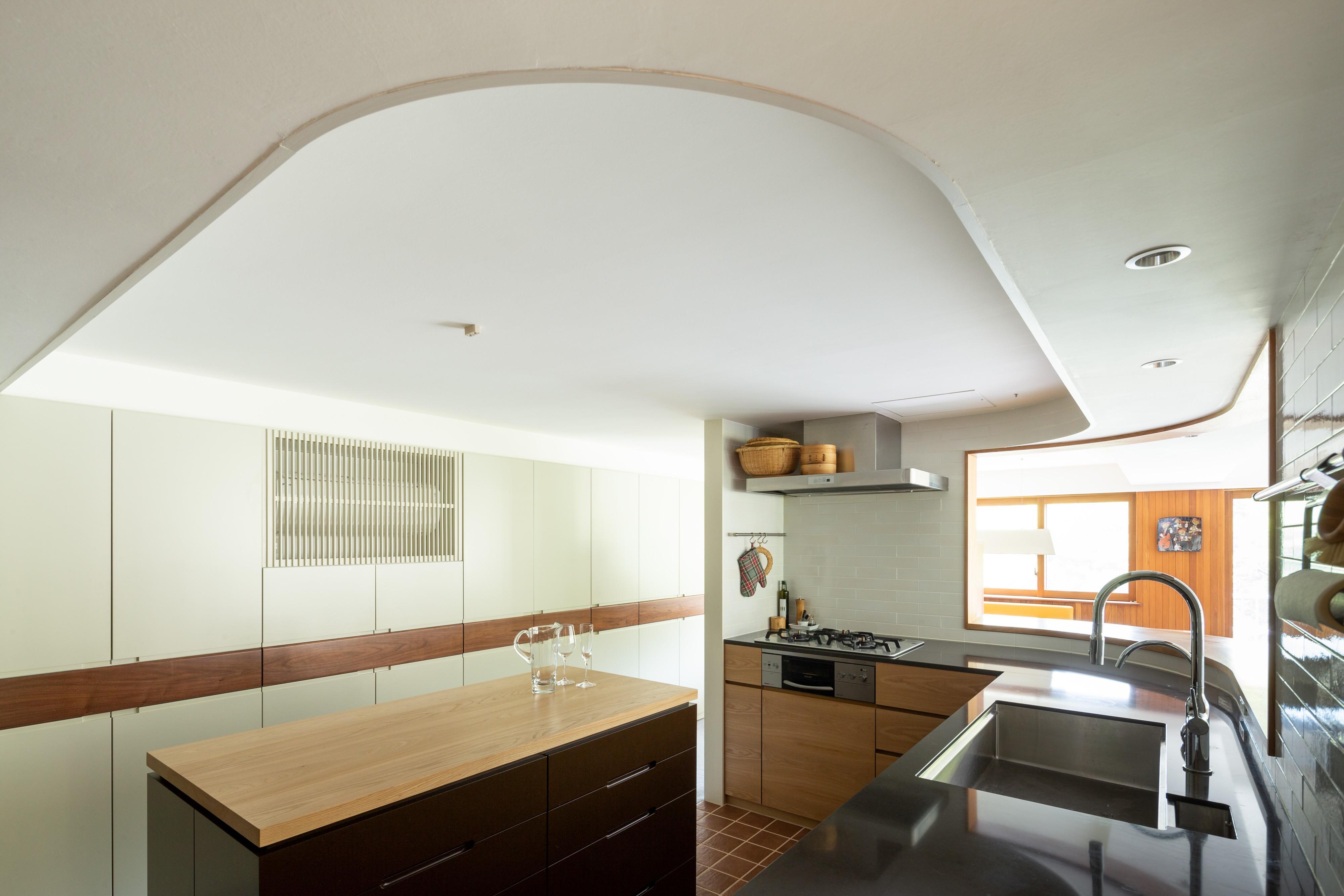 キッチン事例:三田綱町の家 キッチン(三田綱町の家)