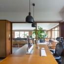 三田綱町の家の写真 三田綱町の家 書斎