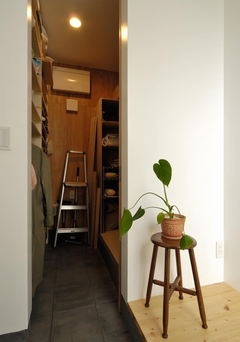 収納事例:内観13(上尾の家)