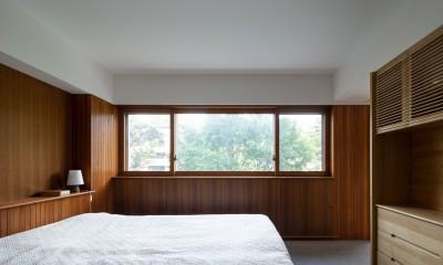 三田綱町の家 (三田綱町の家 寝室)