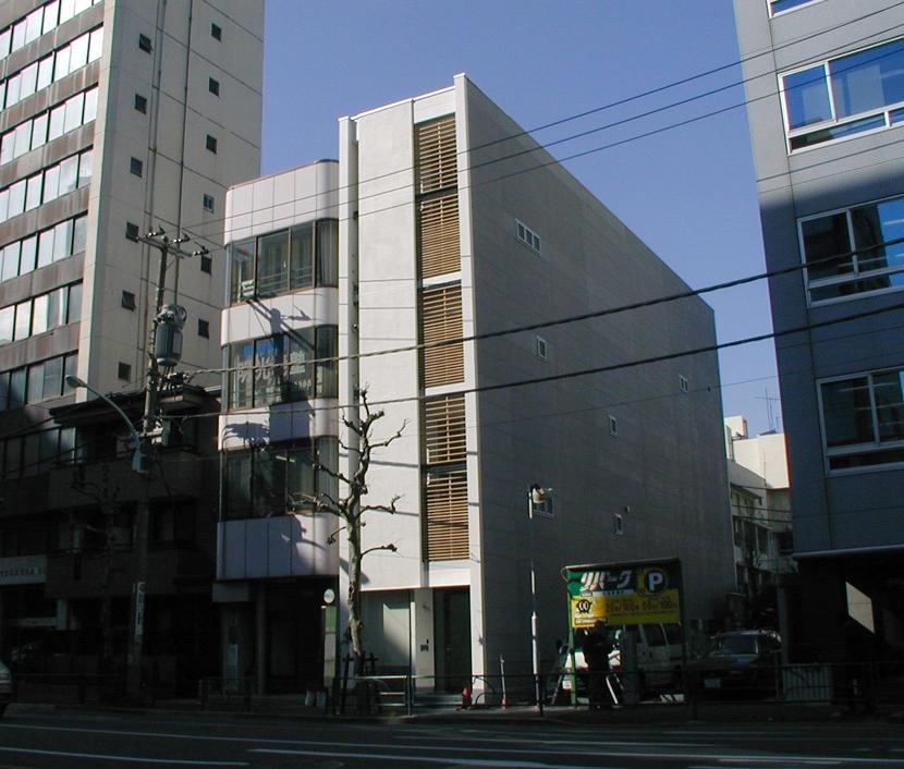 古川ビル / オーナー住戸付き事務所ビル (全景)