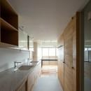 三田綱町の家の写真 三田綱町の家 洗面室