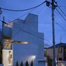 D-FLAT / オーナー住戸付き集合住宅の写真 外観夕景