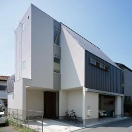 茅ヶ崎の家+ Max Clean Studio (外観1)