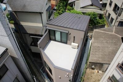 House Akasaka (屋上)