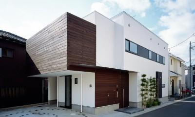 大磯の家 (外観2)