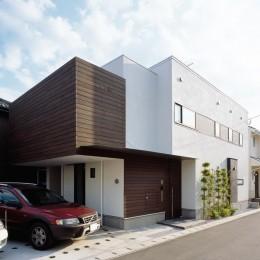 大磯の家 (外観3)