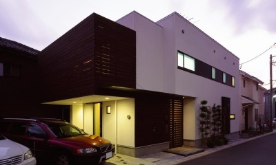 大磯の家 (外観8)