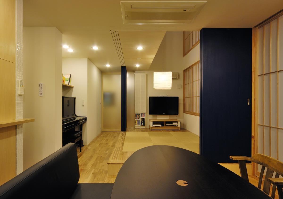 リビングダイニング事例:内観7(大磯の家)