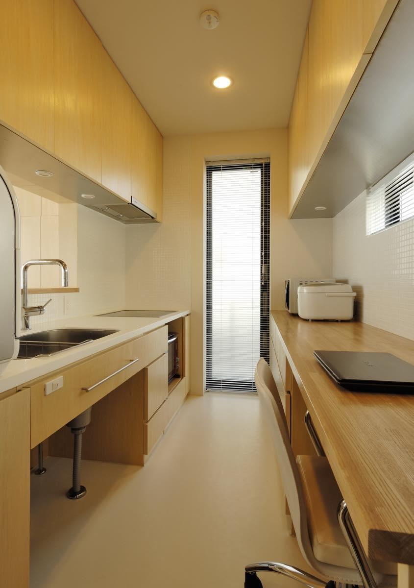 キッチン事例:内観13(大磯の家)