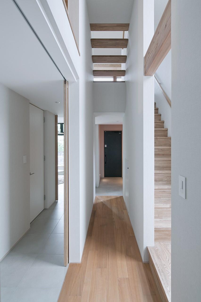 その他事例:階段(House Akasaka)