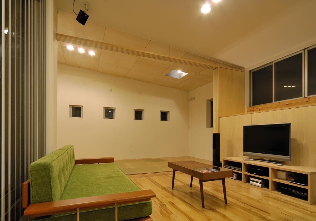リビングダイニング事例:内観14(綾瀬の家)