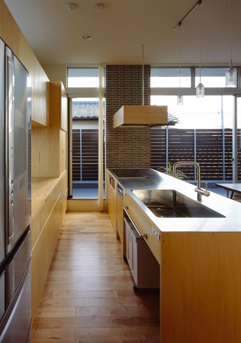 キッチン事例:内観16(綾瀬の家)