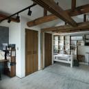 ヒカリノイエ~3世代2世帯が住む味わいのある古民家リノベーション~の写真 子供部屋