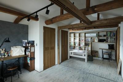子供部屋 (ヒカリノイエ~3世代2世帯が住む味わいのある古民家リノベーション~)