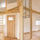 自然素材+断熱性能 体にやさしい住まいの写真 ワークスペース兼キッズスペース