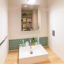レトロポップの写真 洗面室