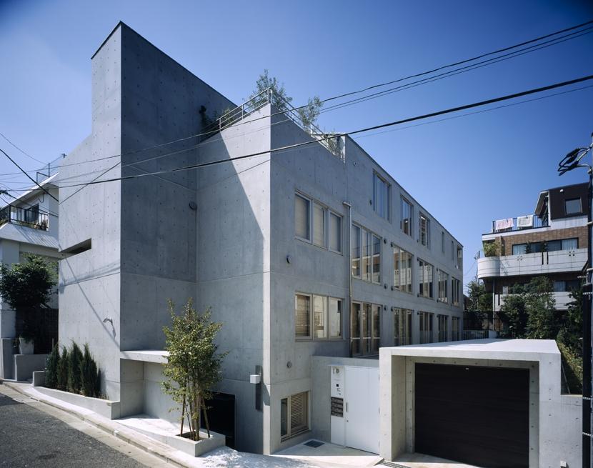 D-FLAT / オーナー住戸付き集合住宅の部屋 全景