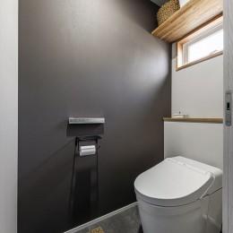 K様邸_懐かしい思い出と新しい暮らし (トイレ)