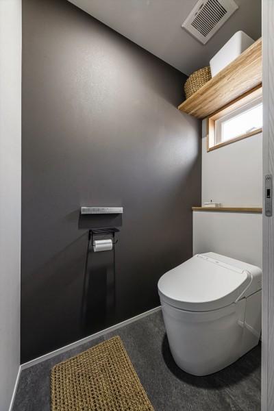 トイレ (K様邸_懐かしい思い出と新しい暮らし)
