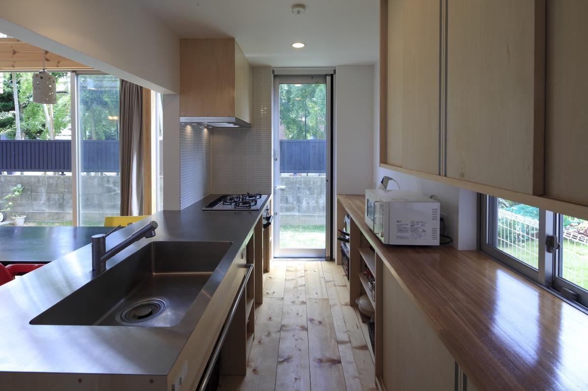 キッチン事例:内観8(狛江の家・Y邸)
