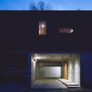 K-Villa / 北軽井沢の別荘の写真 外観夕景