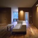 K-Villa / 北軽井沢の別荘の写真 リビング