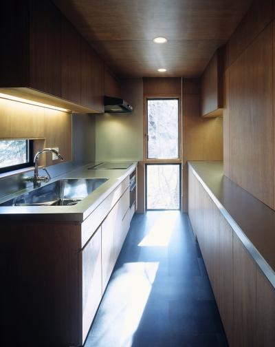 キッチン (K-Villa / 北軽井沢の別荘)