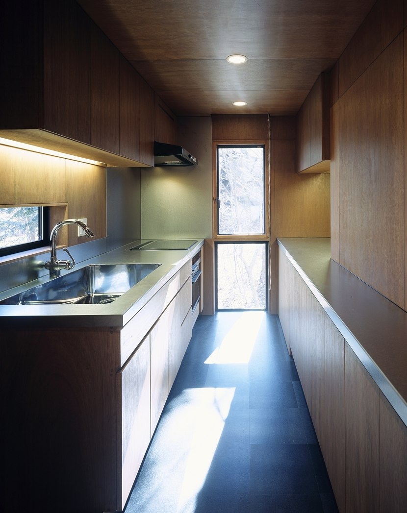K-Villa / 北軽井沢の別荘の部屋 キッチン