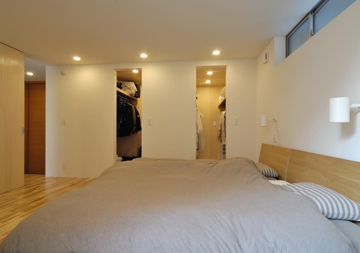 ベッドルーム事例:内観6(大場町の家)