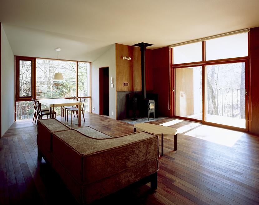 建築家:森吉直剛「K-Villa / 北軽井沢の別荘」